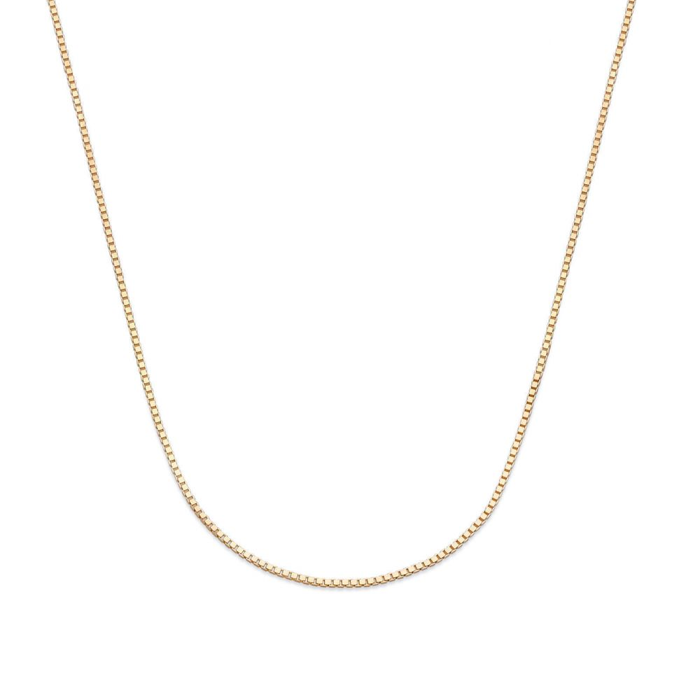 Gold Chains | Venice Necklace - Classically Delicate, 0.53 MM