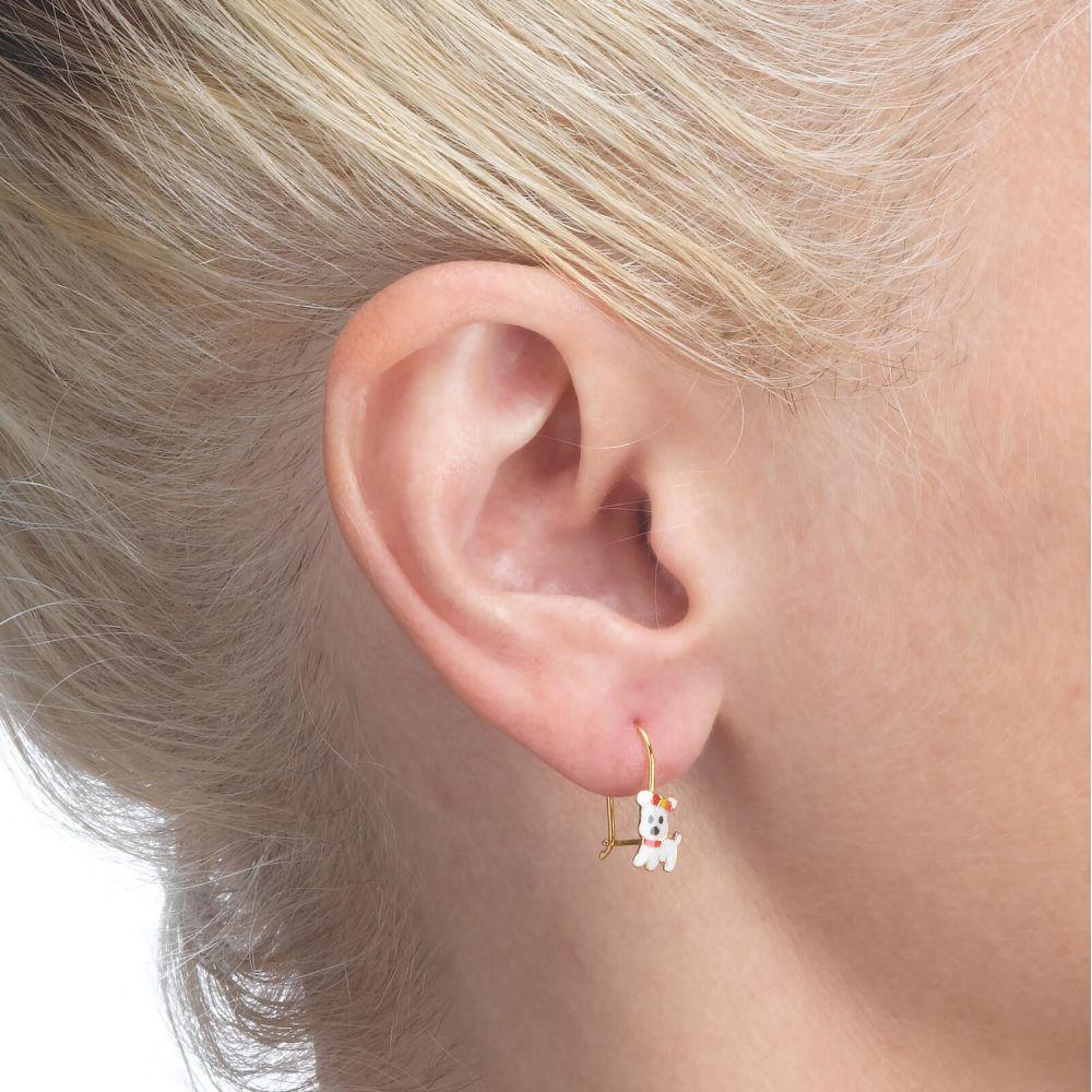 Girl's Jewelry   Earrings - Joyful Pup