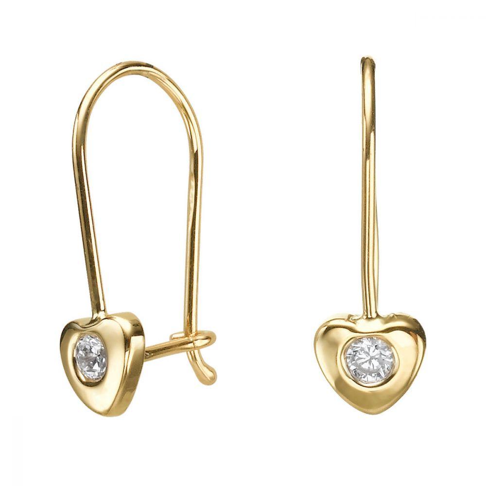 Girl's Jewelry | Earrings - Heart of Oriana