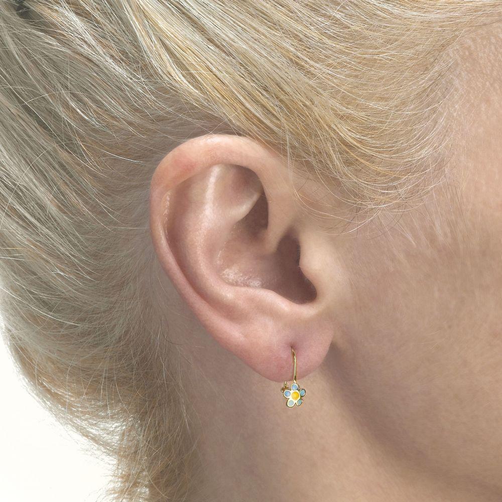 Girl's Jewelry   Earrings - Saia Flower