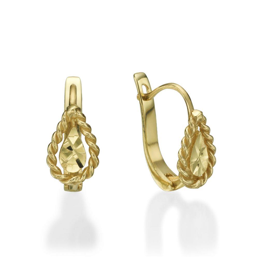 Girl's Jewelry   Earrings - Drop of Joy