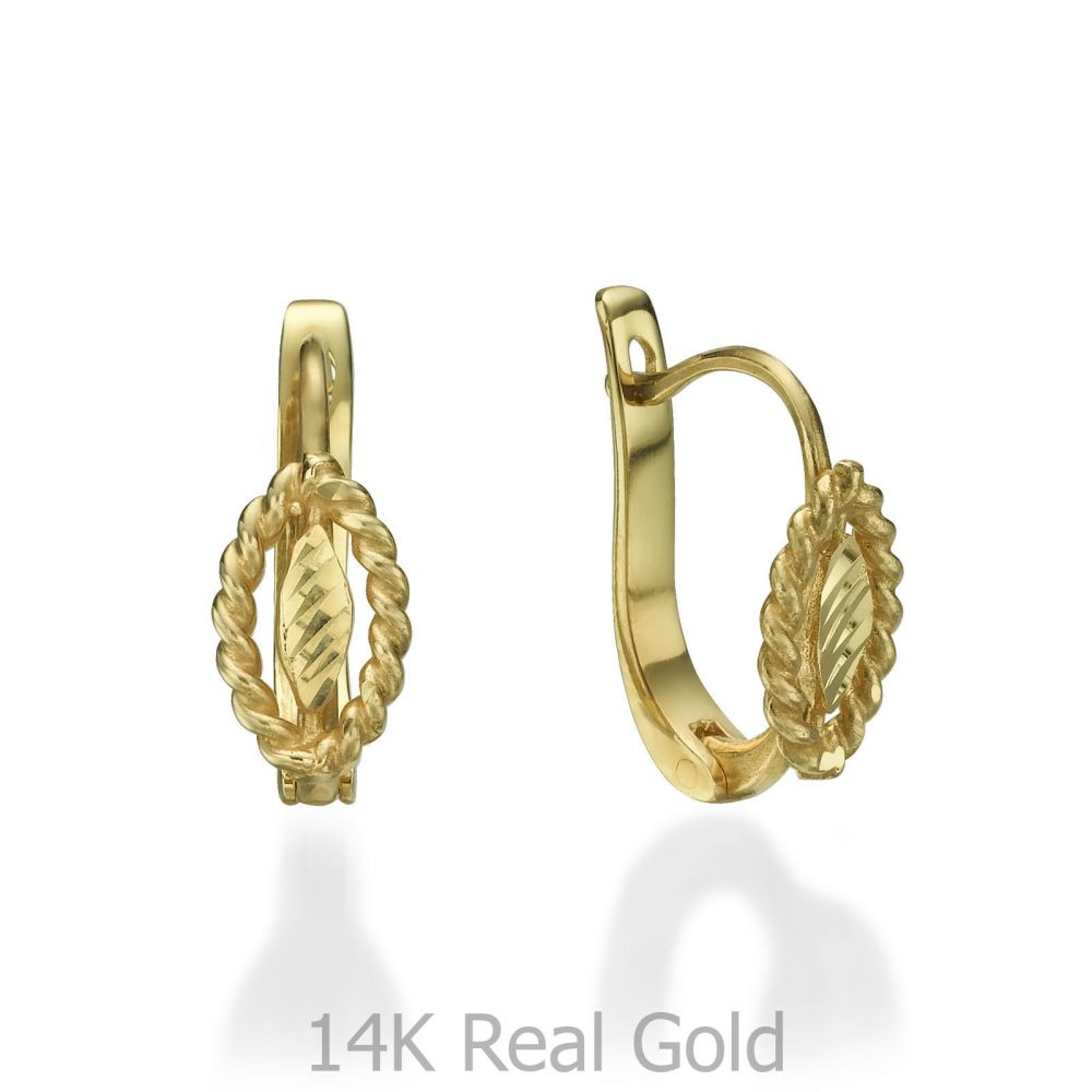 Girl's Jewelry | Earrings - Leaf of Gloria