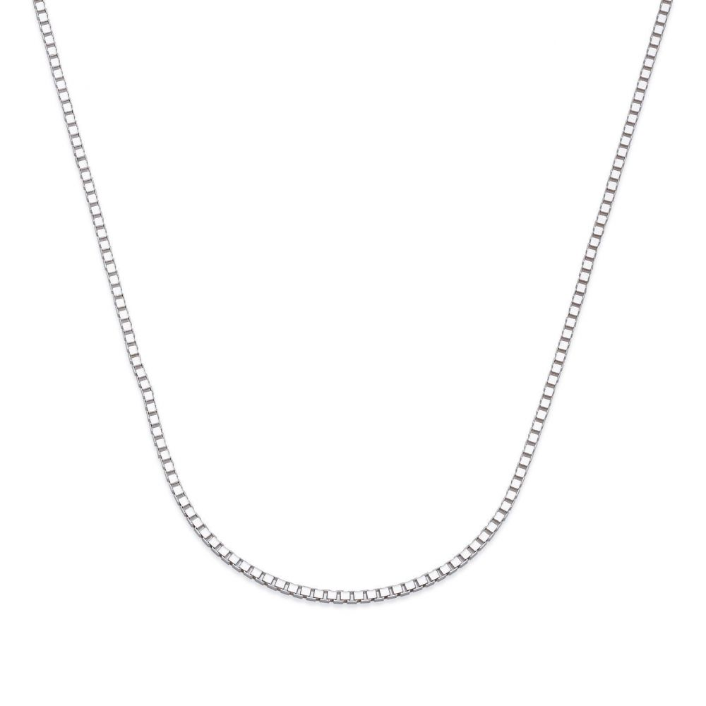Gold Chains | Venice Necklace - Classically Delicate, 0.8 MM