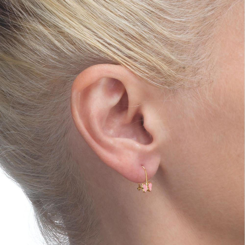 Girl's Jewelry   Earrings - Noah Butterfly