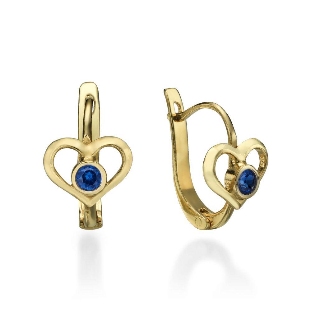 Gold Earrings | Earrings - Grand Heart