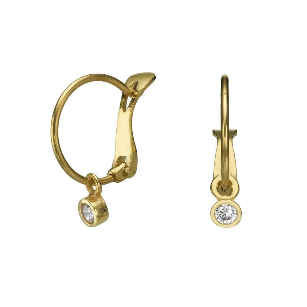Earrings Circle of Empathy youme offers a range of 14K gold