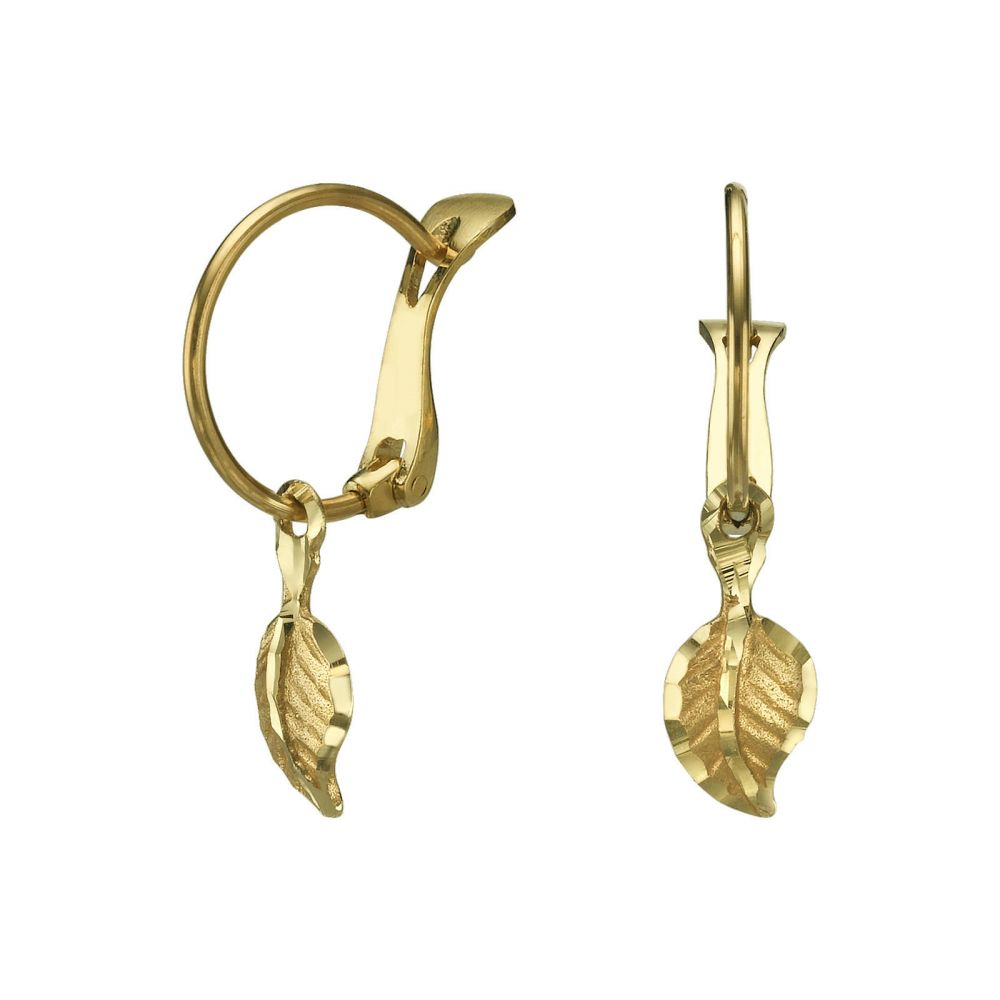 Girl's Jewelry | Earrings - Falling Leaf