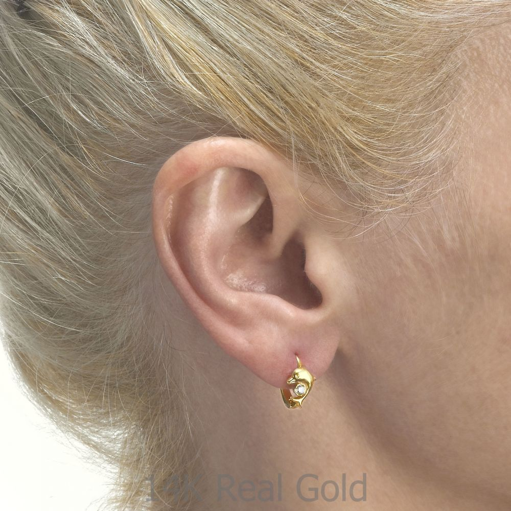 Girl's Jewelry | Earrings - Dolly Dolphin