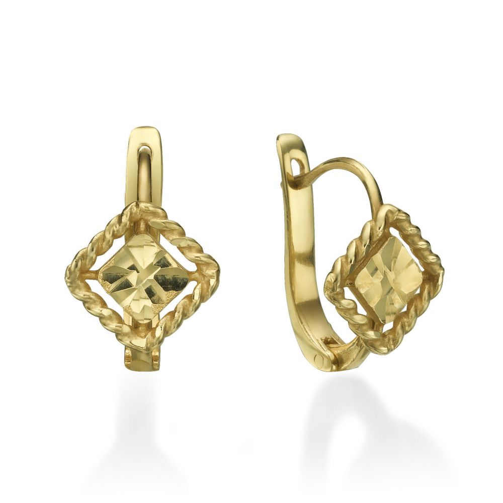 Girl's Jewelry | Earrings - Elaina Diamond