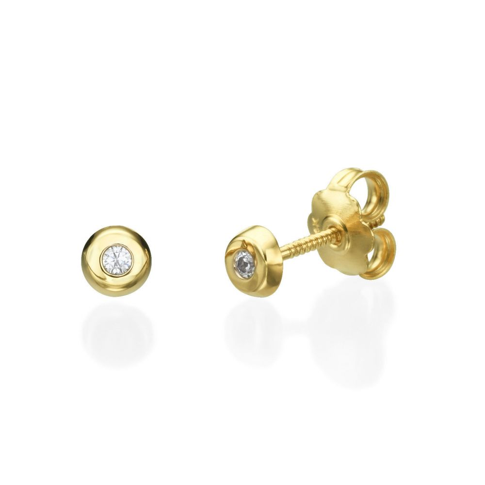 white nl women stud yellow in gold fascinating with flower earrings diamond yg jewelry earring