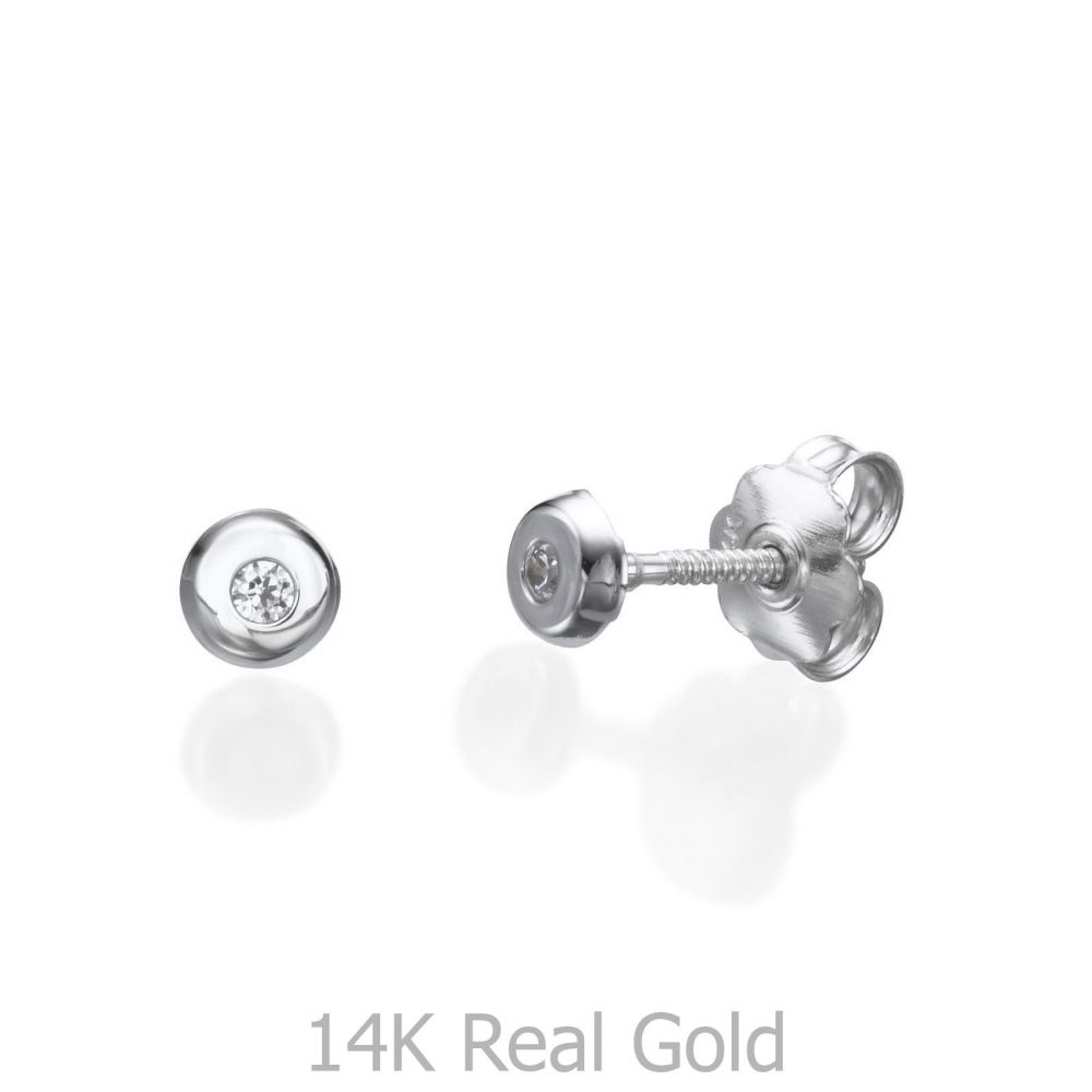 gold ball product studs yellow earrings stud solid