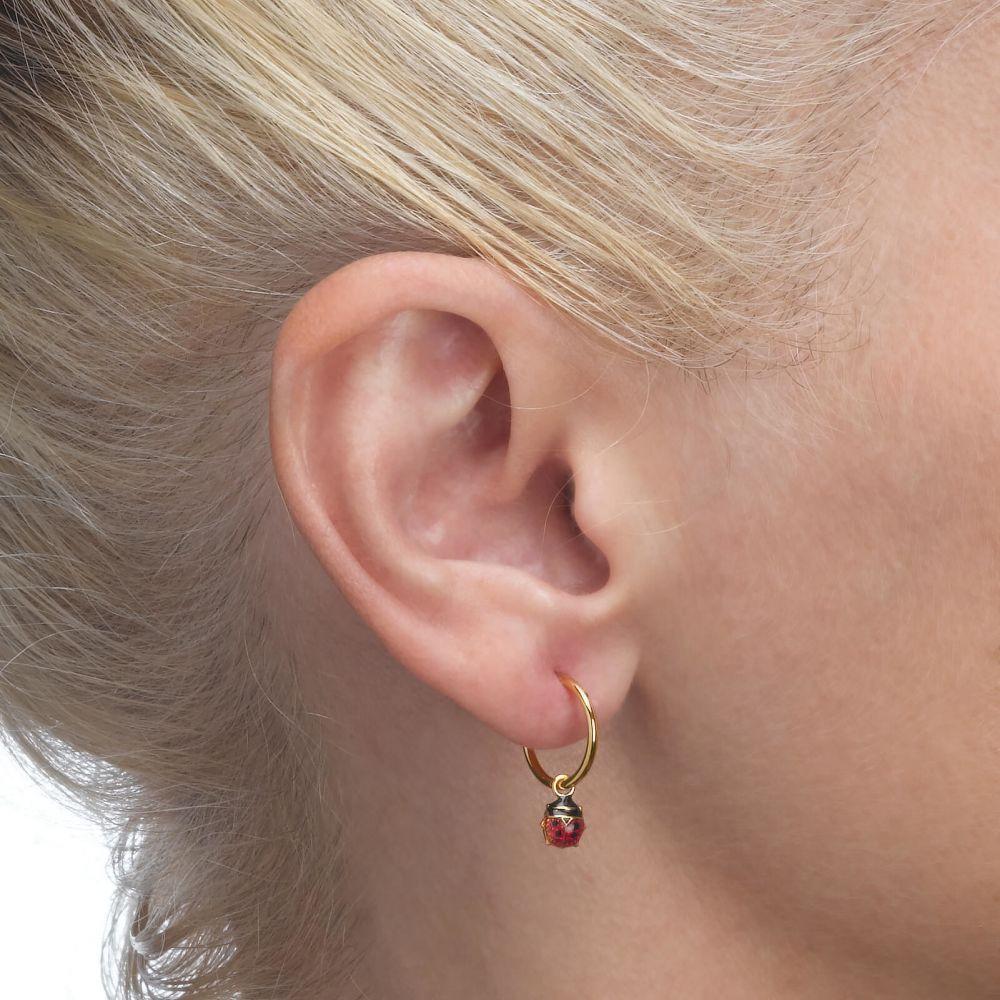 Girl's Jewelry | Earrings - Ladybug
