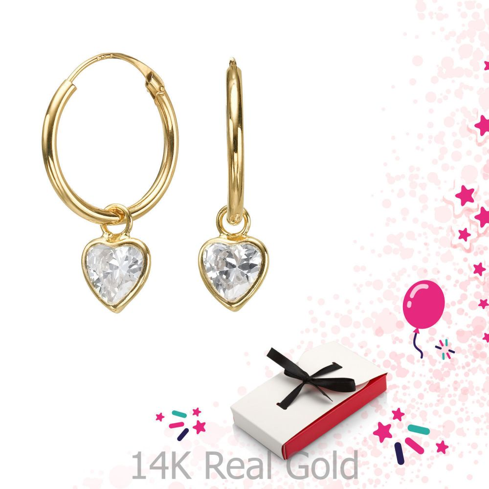 Girl's Jewelry | Earrings - Drop of Laura