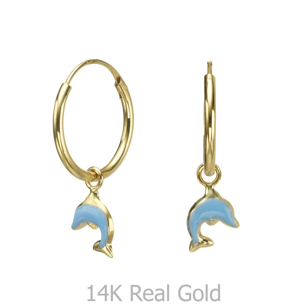Girl's Jewelry | Earrings - Dolphin Leap