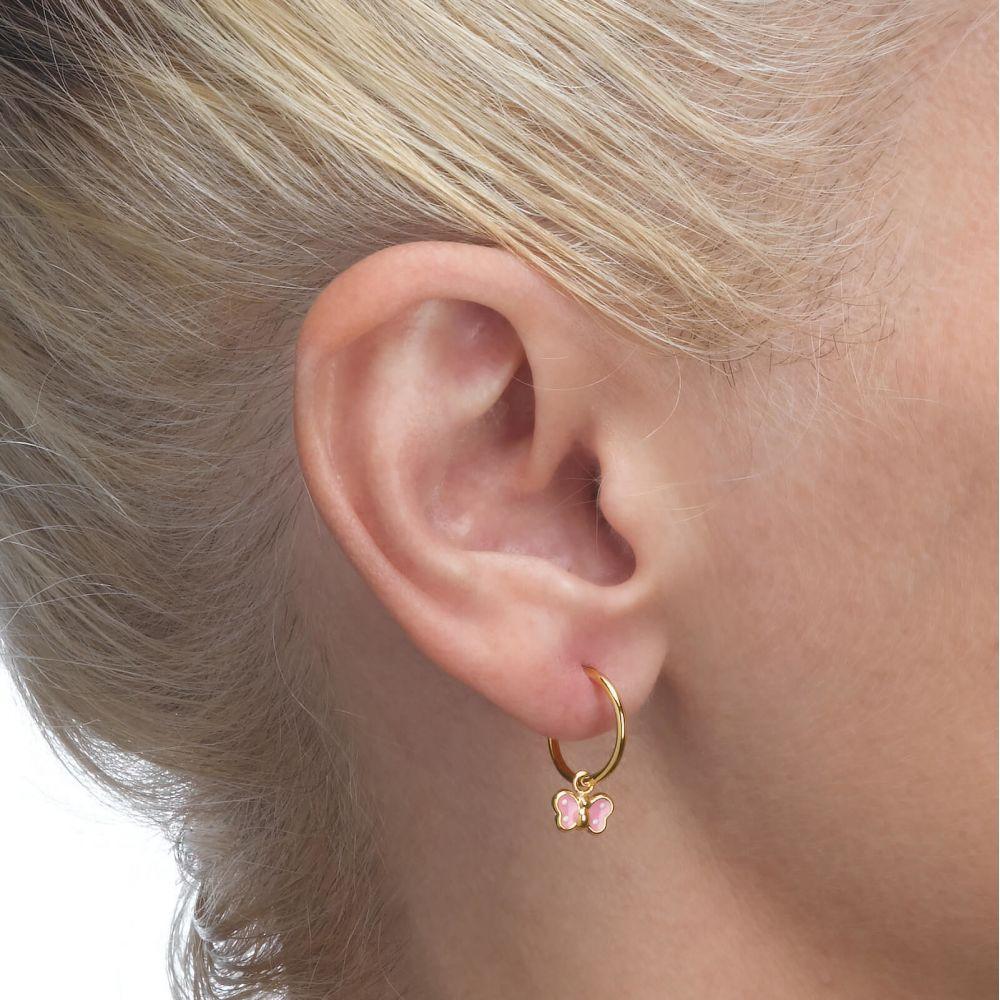 Girl's Jewelry | Earrings - Arabella Butterfly