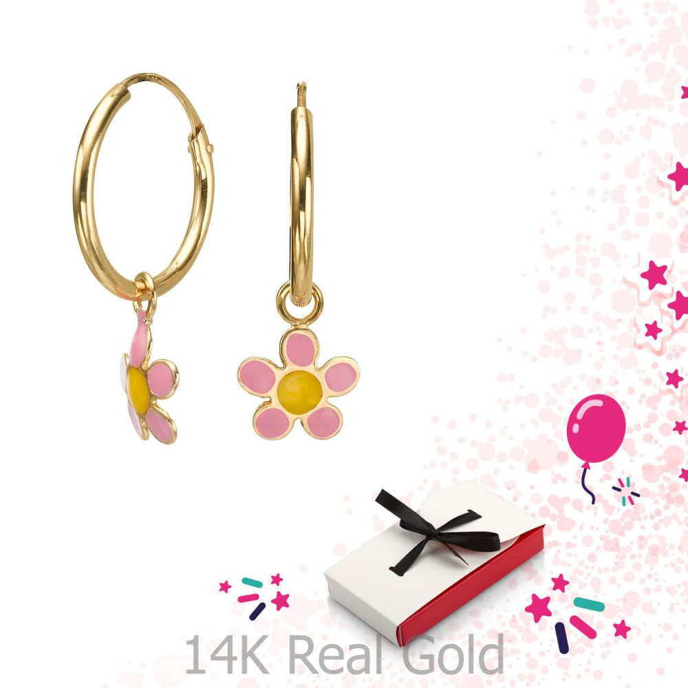Girl's Jewelry | Earrings - Celine Flower