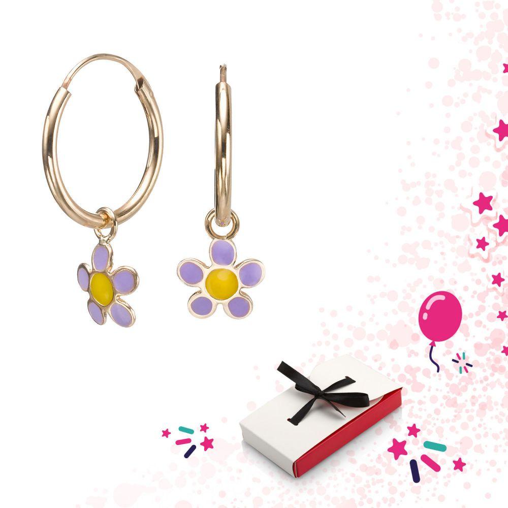 Girl's Jewelry   Earrings - Selina Flower