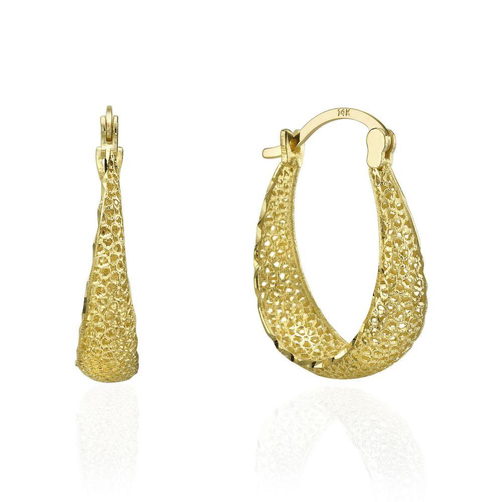 e969d8775 Gold Hoop Earrings - Hoops of Radiance. youme offers a range of 14K ...