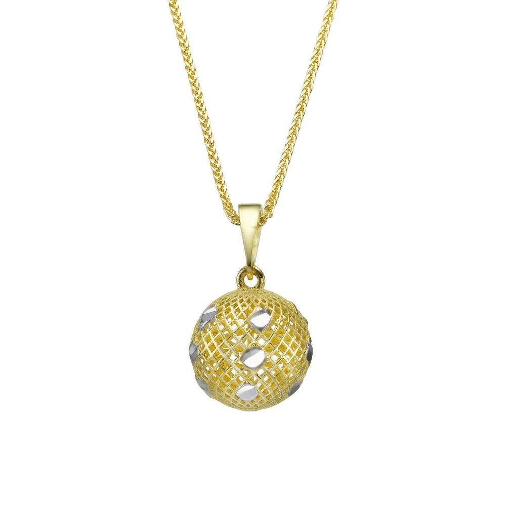 Gold Pendant Ball of Planty youme offers a range of 14K gold