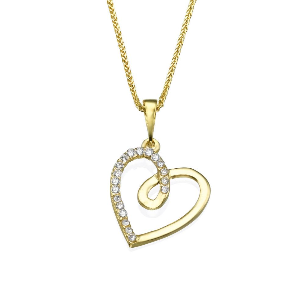 Gold pendant heart of gaia youme offers a range of 14k gold womens gold jewelry gold pendant heart of gaia aloadofball Images