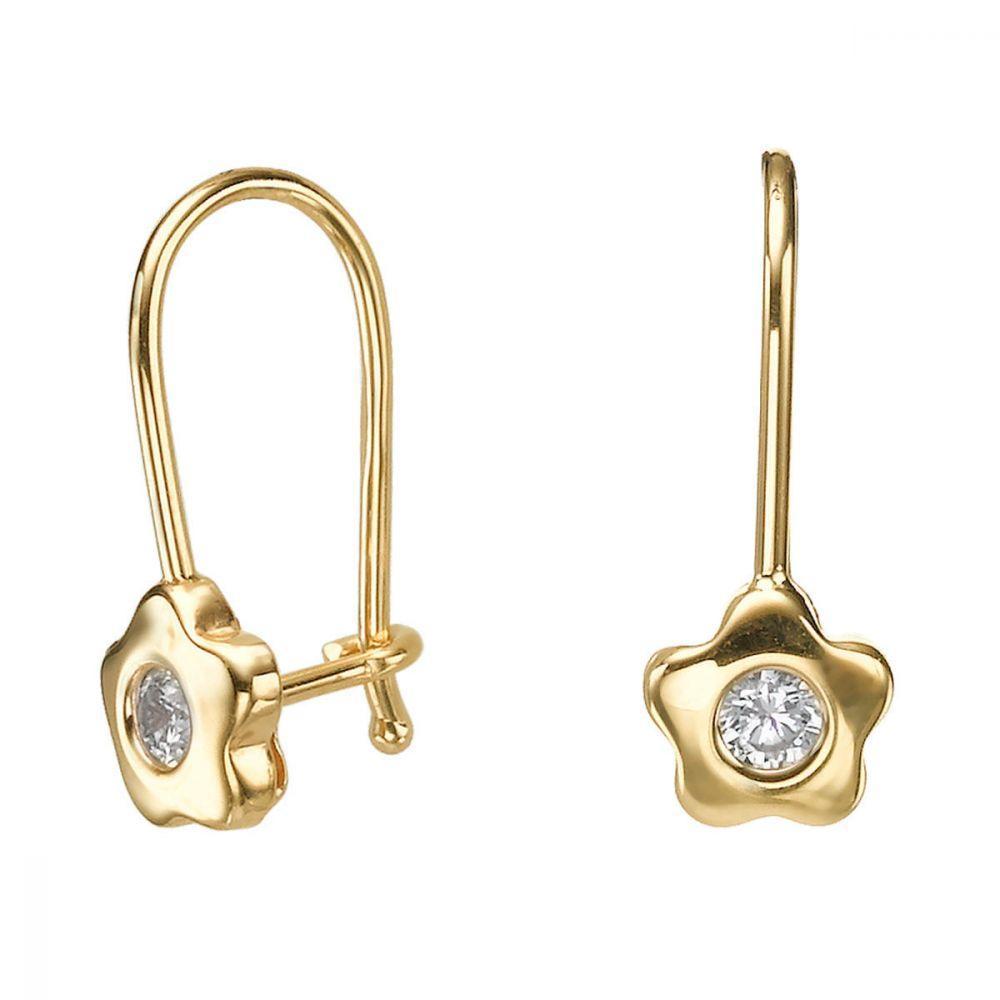 Girl's Jewelry | Earrings - Annabelle Flower