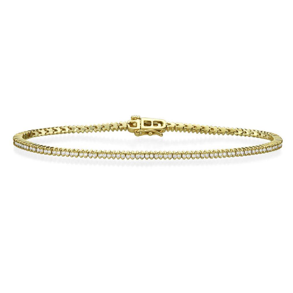 Diamond Jewelry | Diamond Tennis Bracelet – Elizabeth