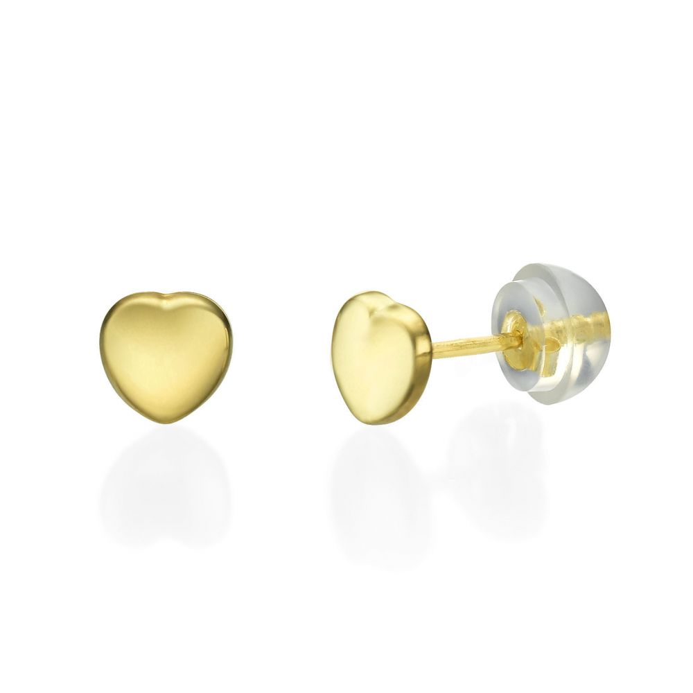 round earrings online yellow tops hallmark gold jewellery cz