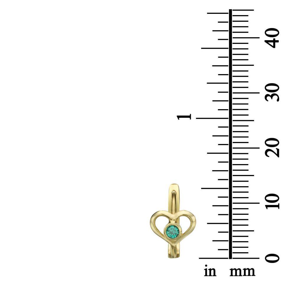 Gold Earrings | Earrings - Heart of Ava