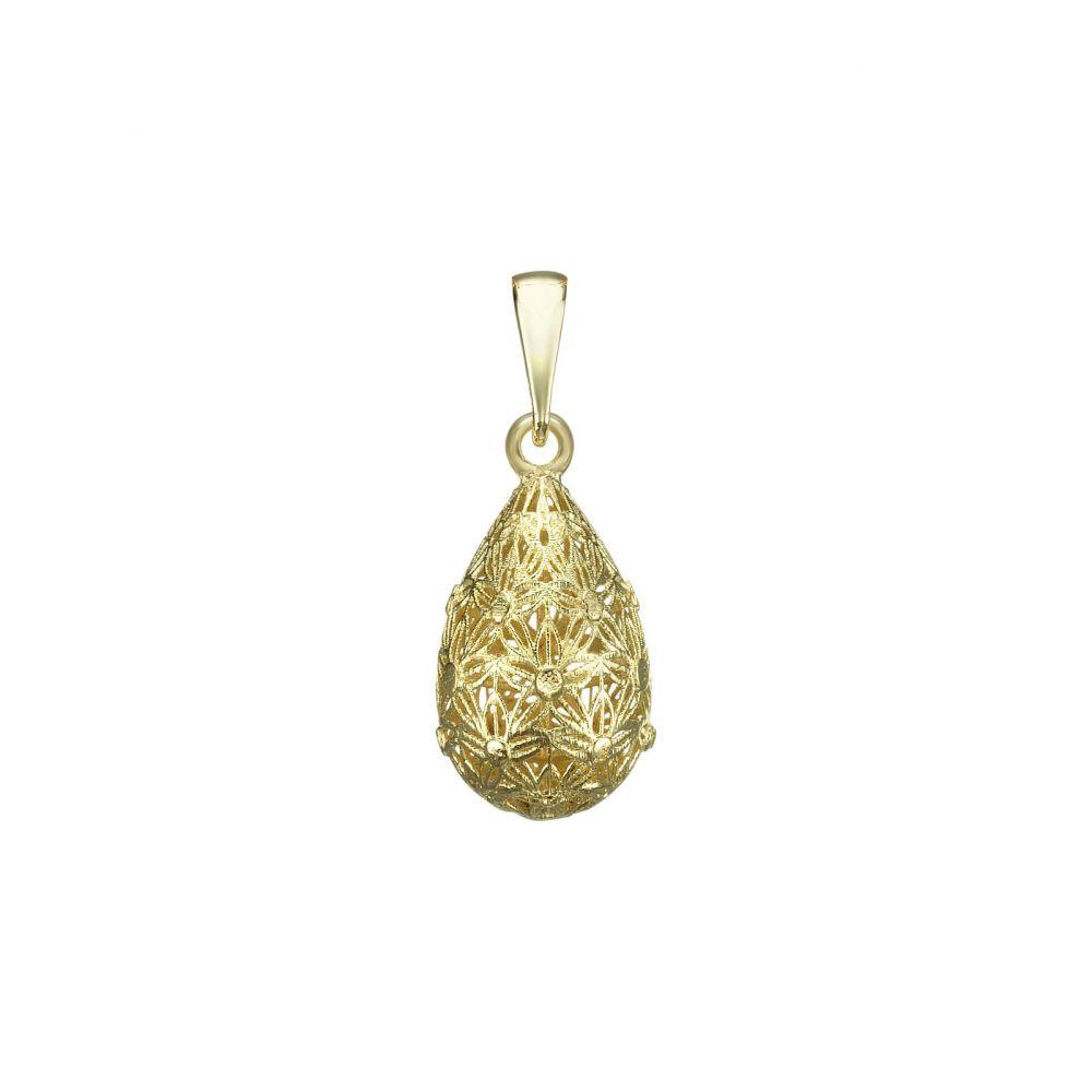 Women's Gold Jewelry | Gold Pendant - Golden Drop