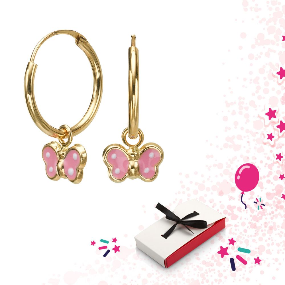 Girl's Jewelry | Earrings - Arabella Butterfly