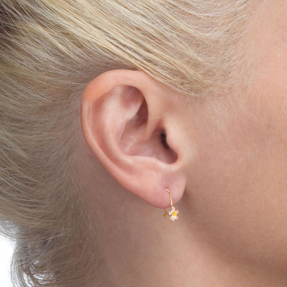 Gold Earrings | Earrings - Celia Flower