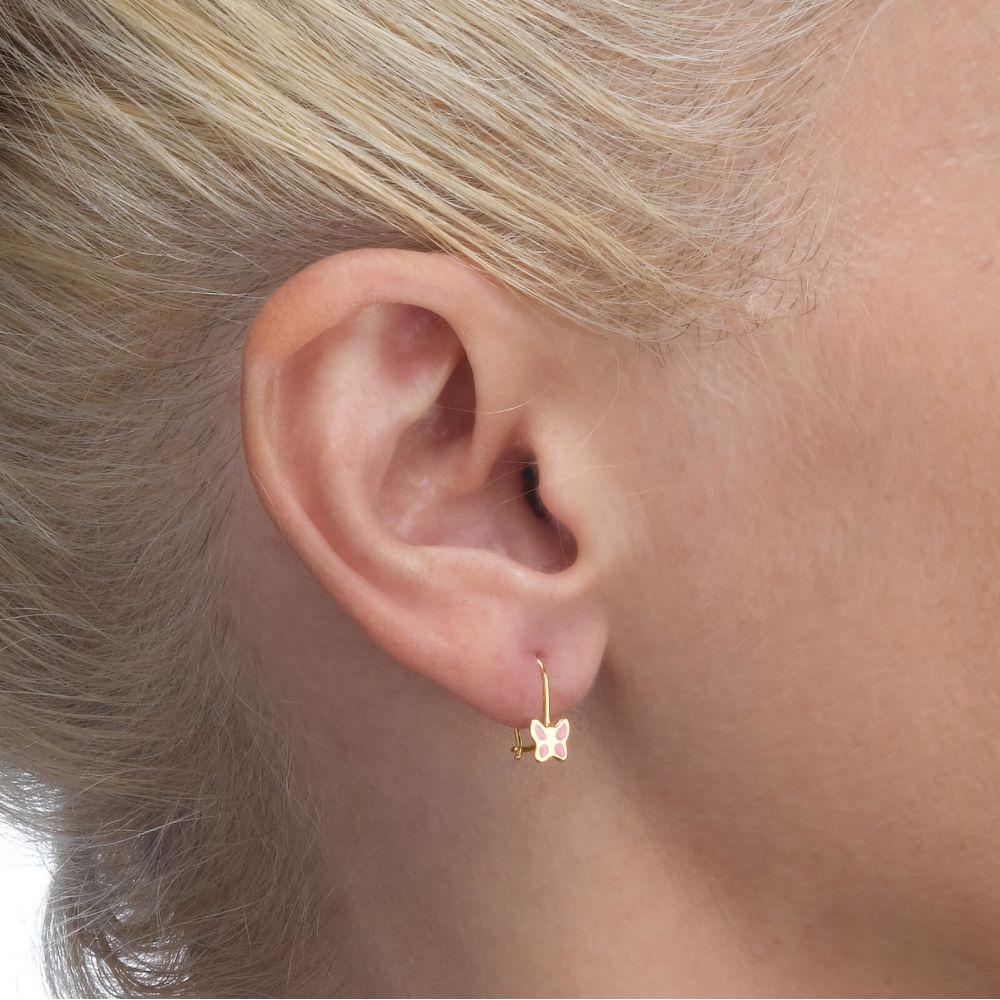 Girl's Jewelry | Earrings - Flutterby Butterfly