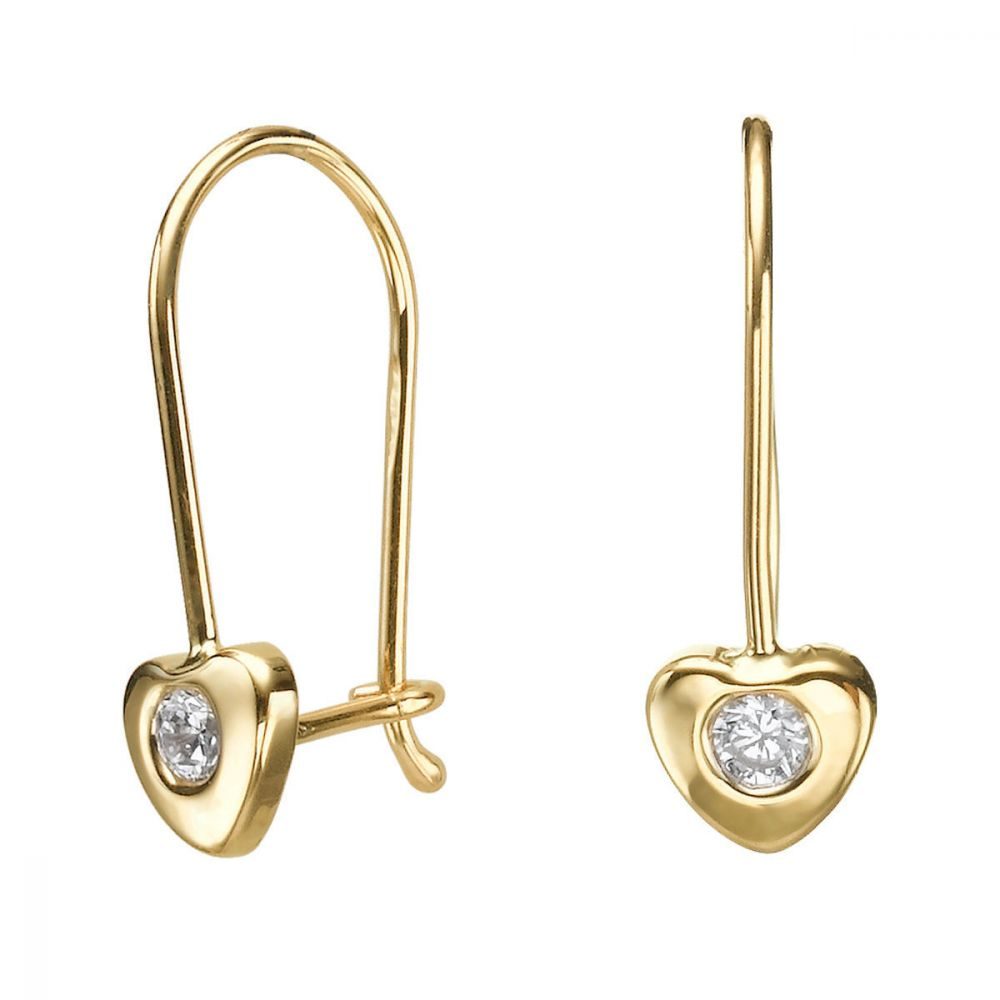 Girl's Jewelry | Earrings - Heart of Oriana
