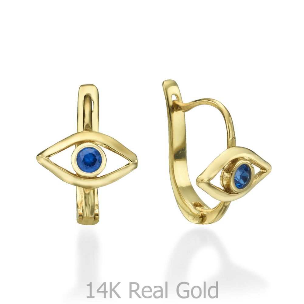 Girl's Jewelry | Earrings - The Blue Eye