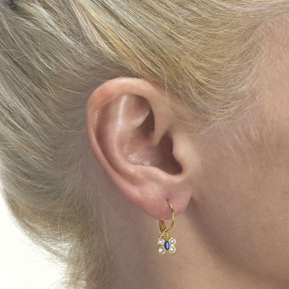 Girl's Jewelry | Earrings - Beatrice Butterfly