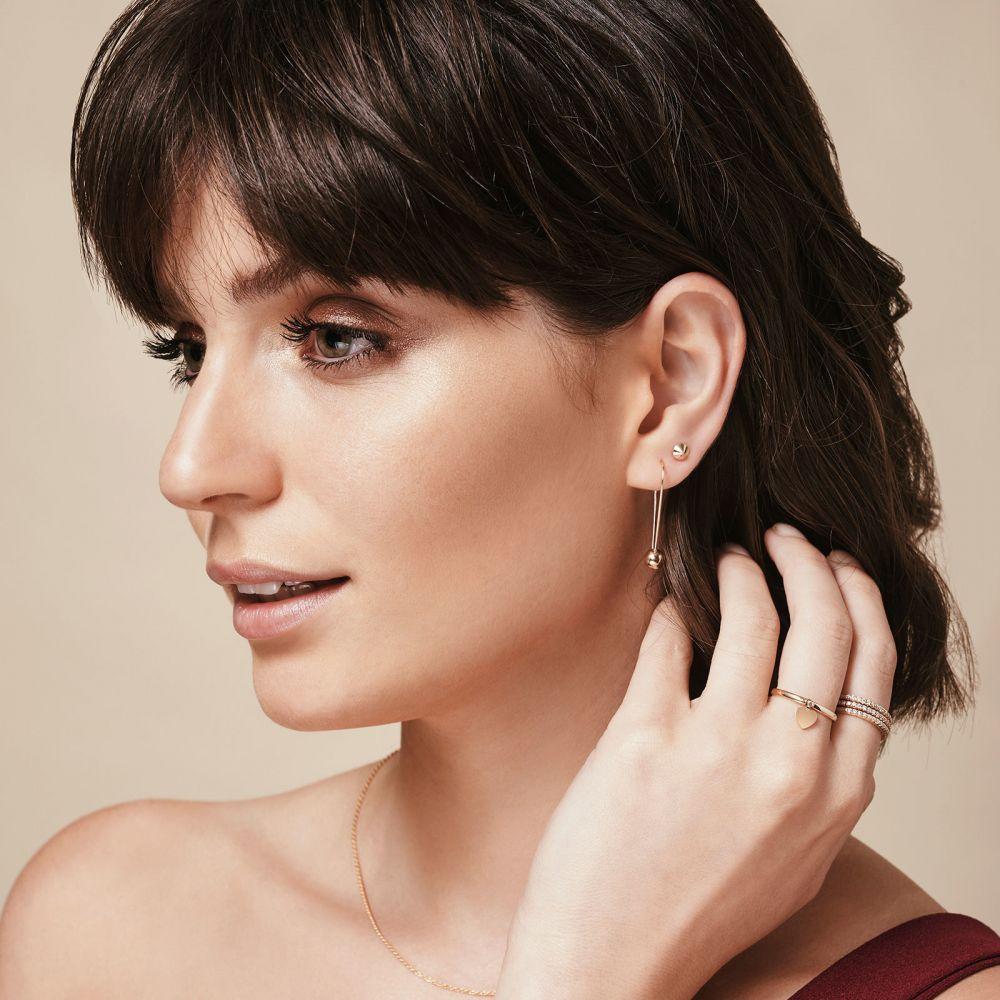 Women's Gold Jewelry | 14K Yellow Gold Women's Earrings - Golden Point
