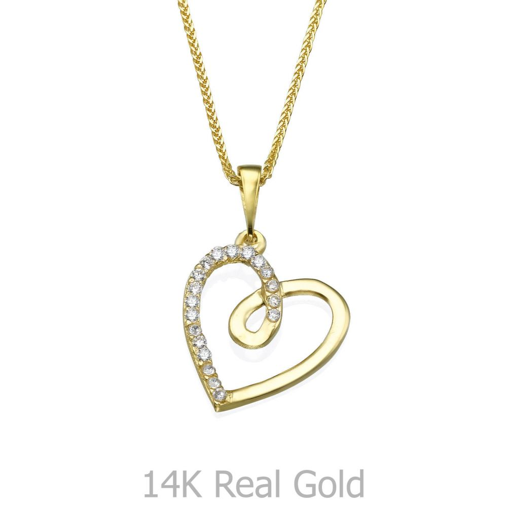 Women's Gold Jewelry | Gold Pendant - Heart of Gaia