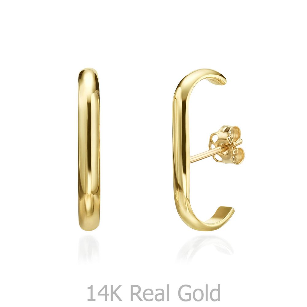 Women's Gold Jewelry | 14K Yellow Gold Women's Earrings - Sunshine