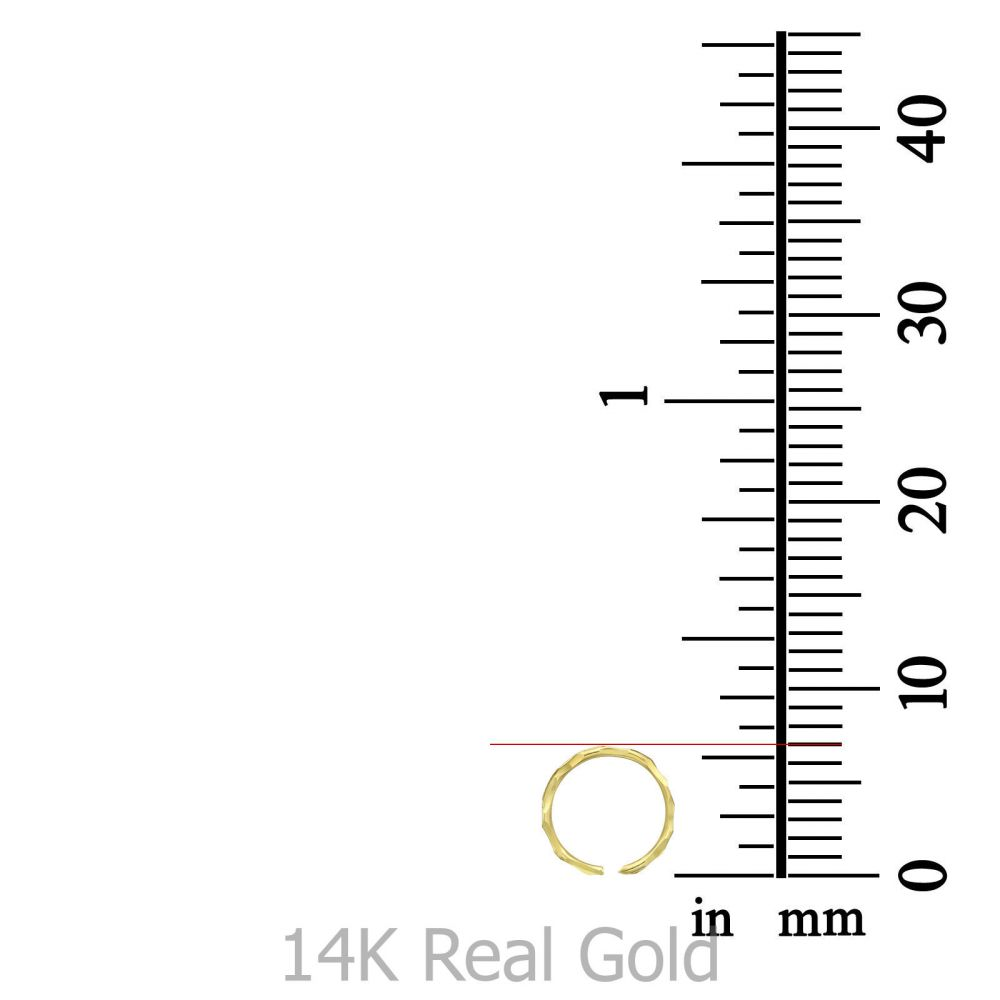 Piercing | Helix / Tragus Piercing in 14K Yellow Gold - Small