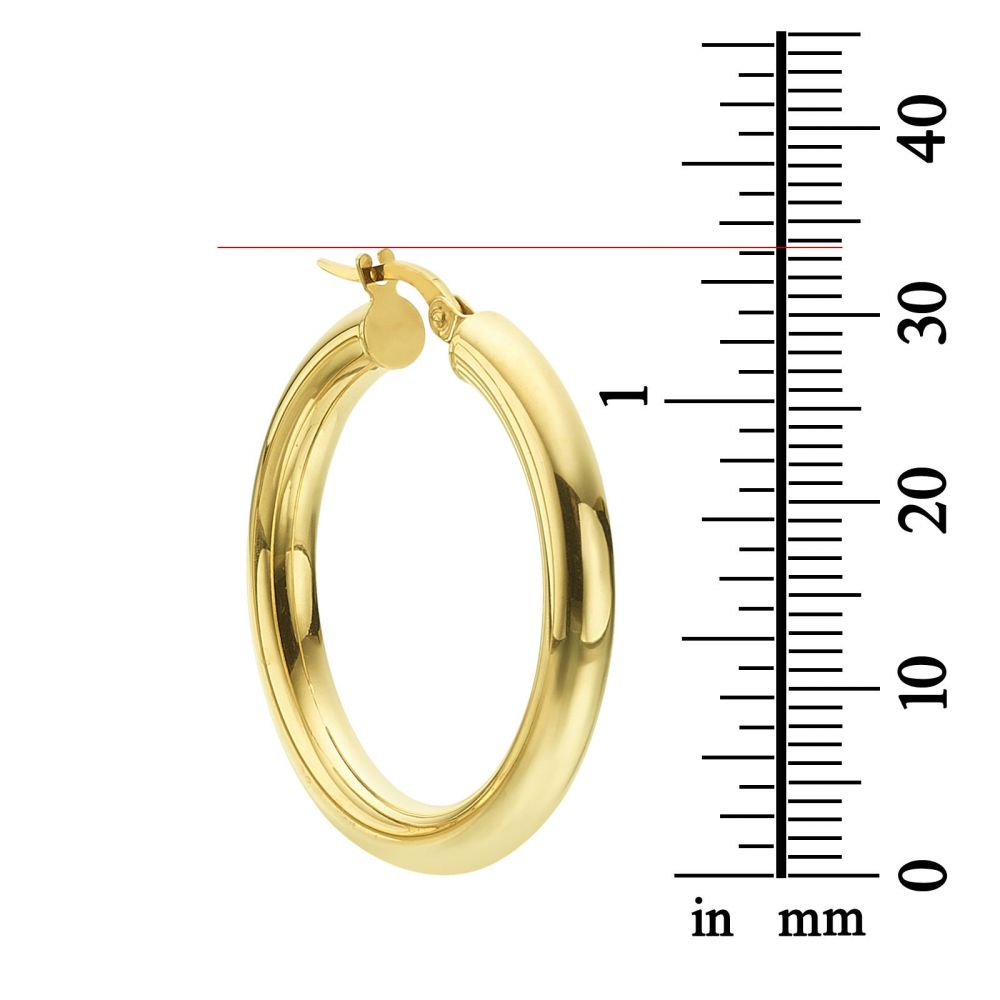 Women's Gold Jewelry | 14K Yellow Gold Women's Earrings - L