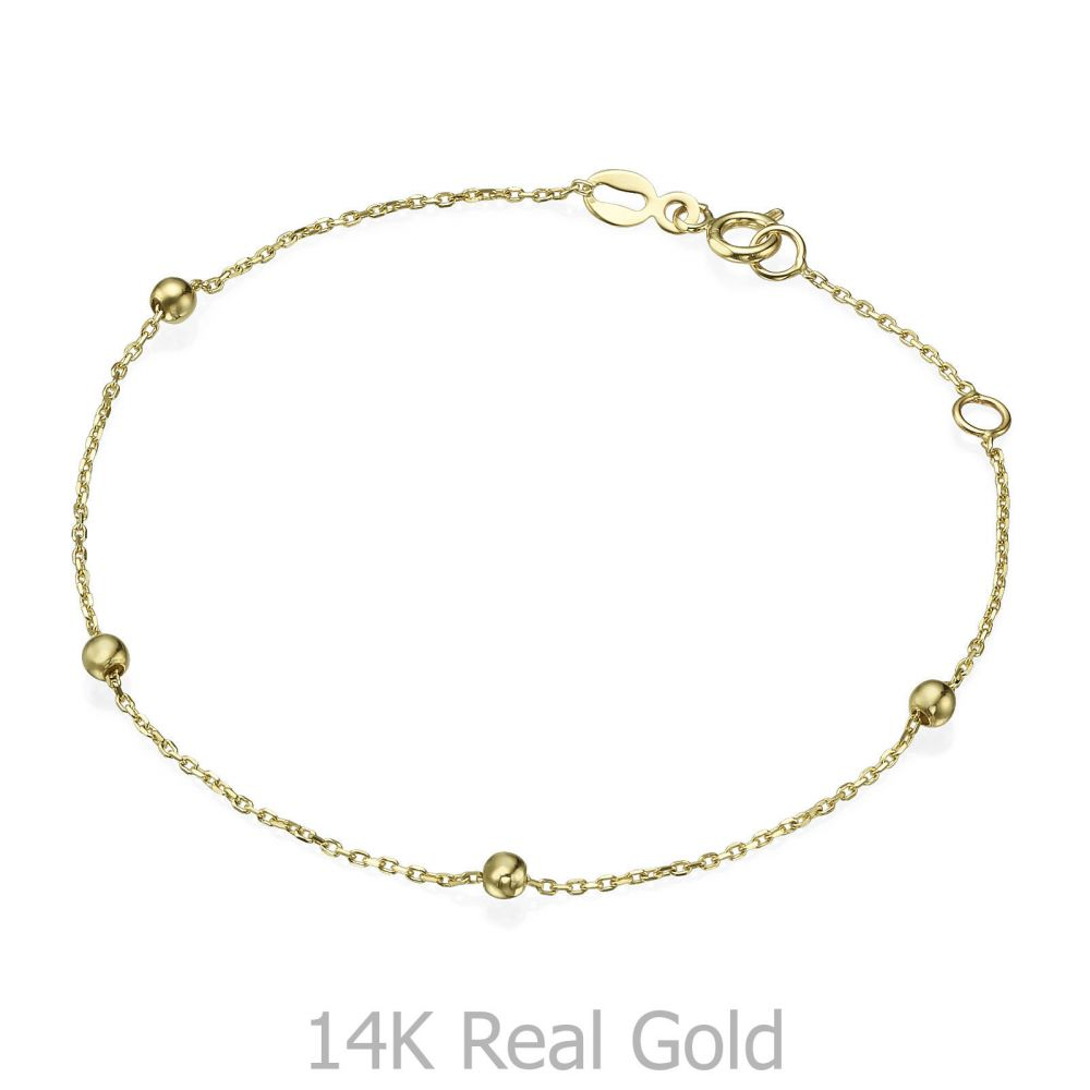 Women S Bracelet In 14k Yellow Gold Jasmine