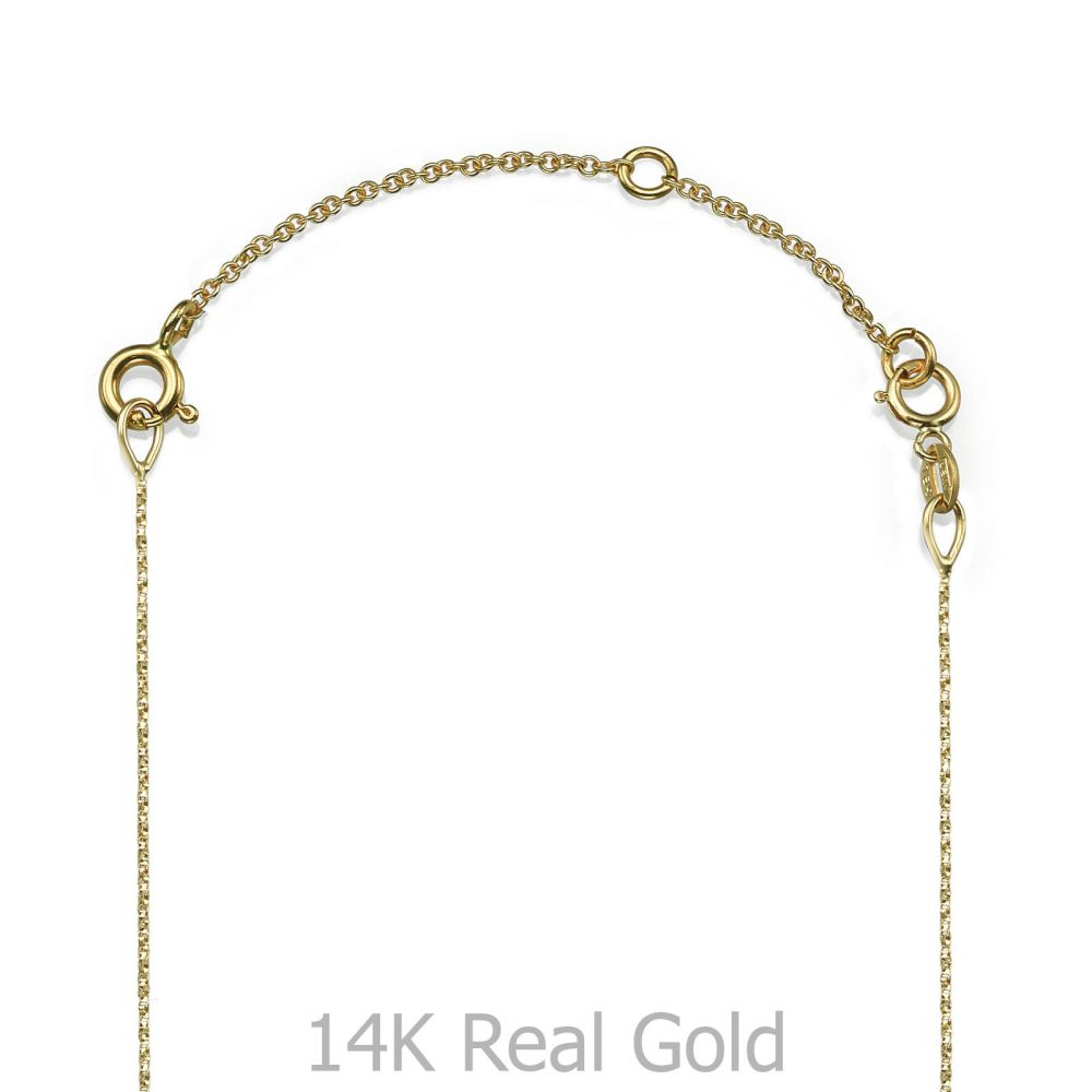 Gold Chains | 14K Yellow Gold Extension Chain - 5cm (1.96 inch)