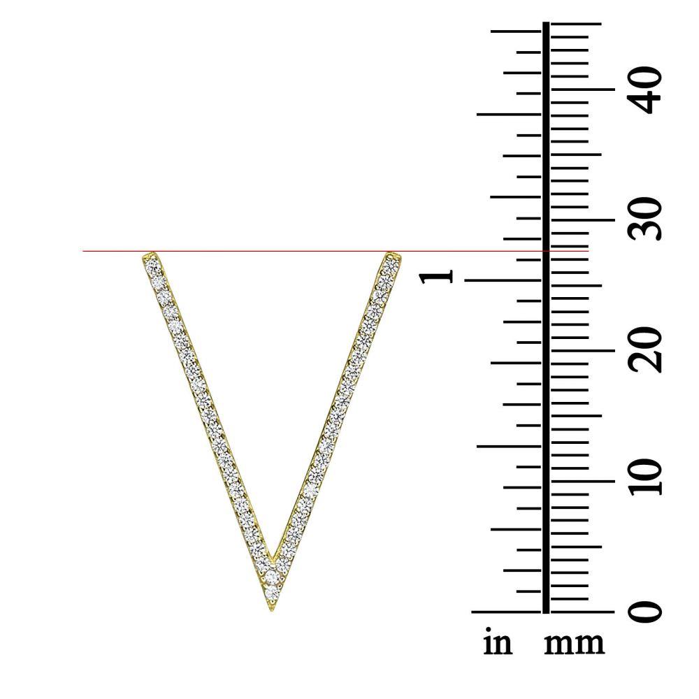 Women's Gold Jewelry | 14k yellow gold women's pandants - Valeria