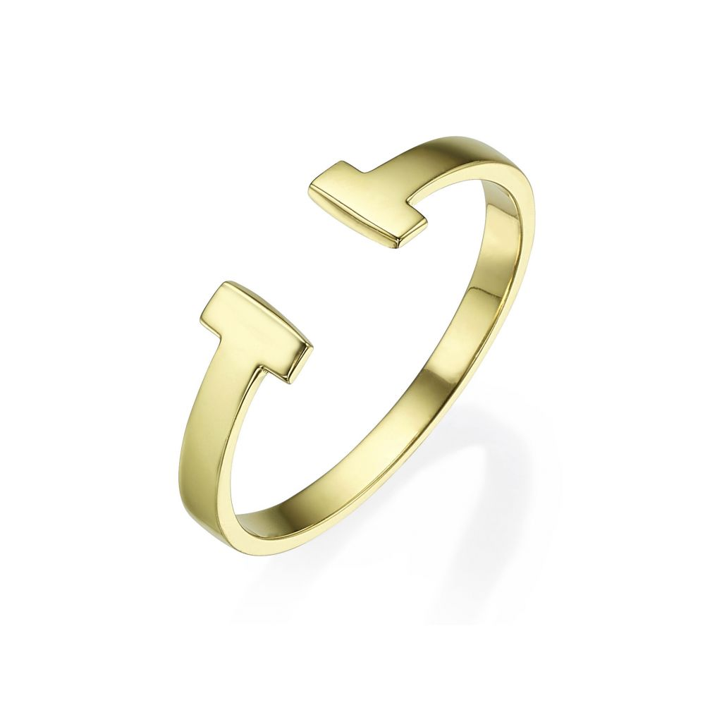Women's Gold Jewelry | 14K Yellow Gold Rings - Robin