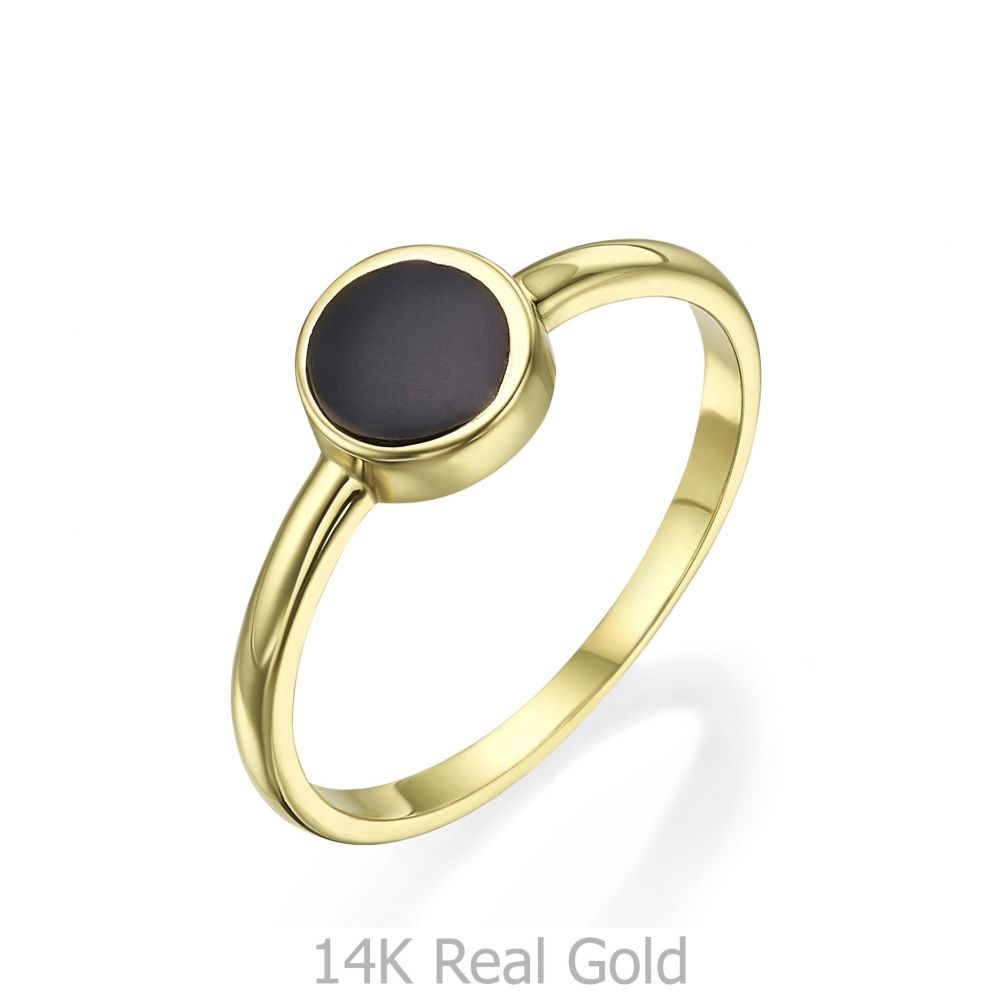 Women's Gold Jewelry | 14K Yellow Gold Rings - Neptune