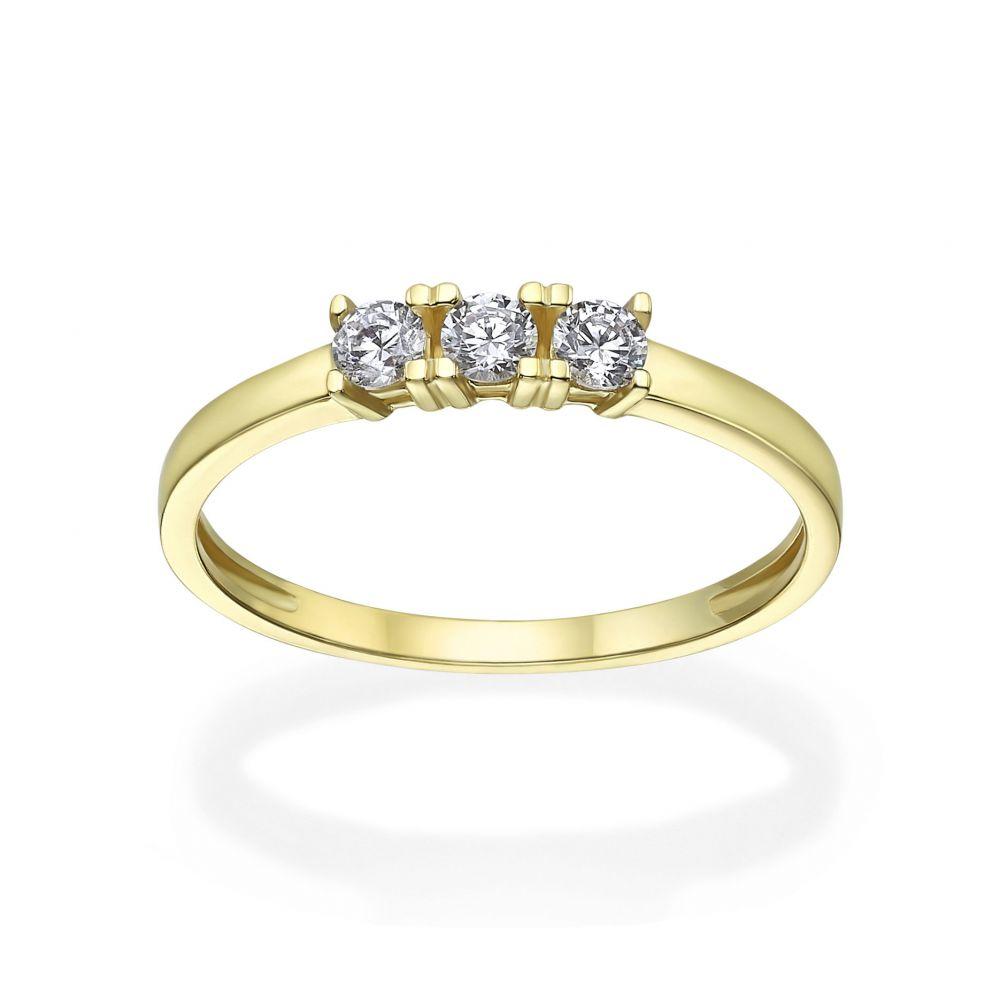 Women's Gold Jewelry | 14K Yellow Gold Rings - Loren