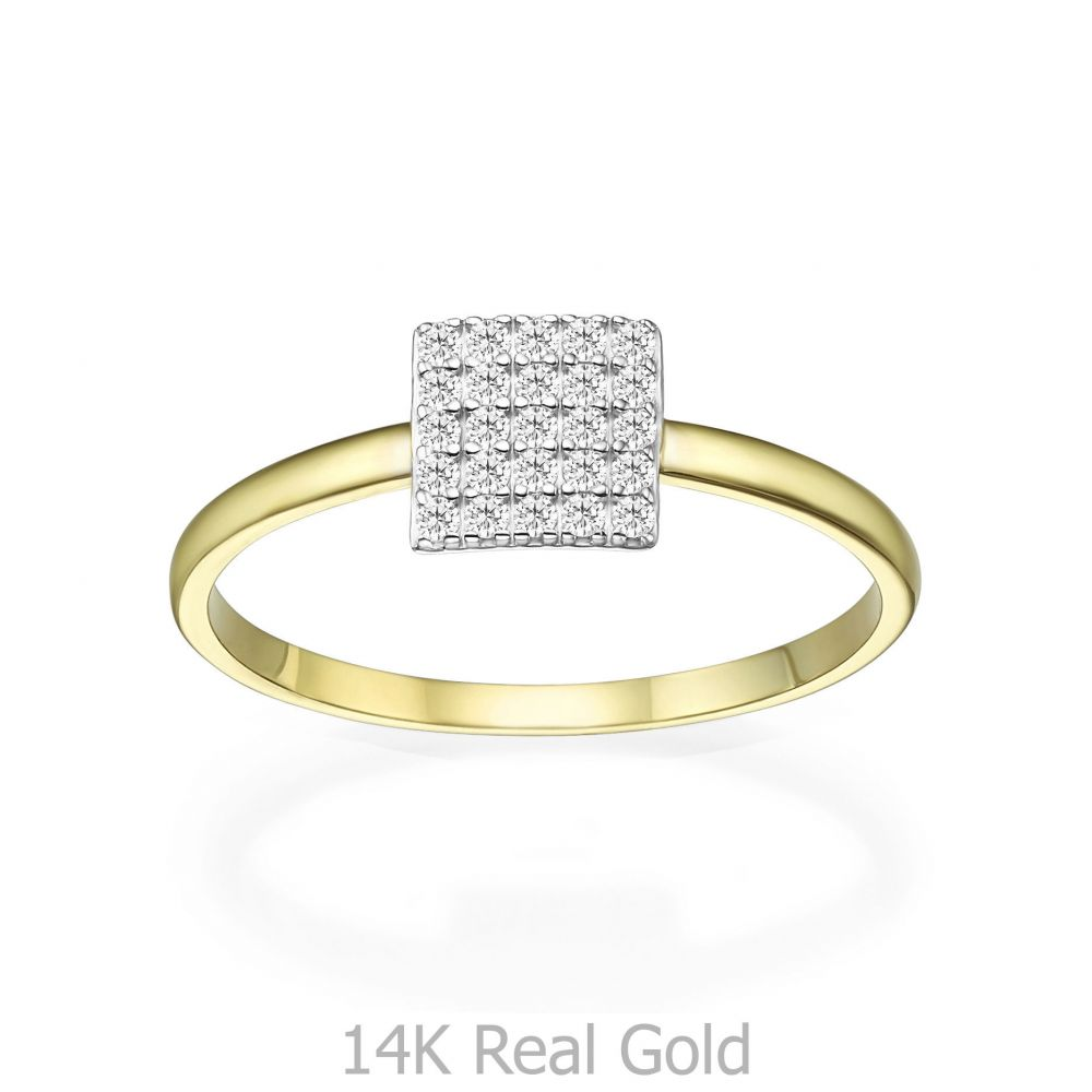 Women's Gold Jewelry   14K Yellow Gold Rings - Florence