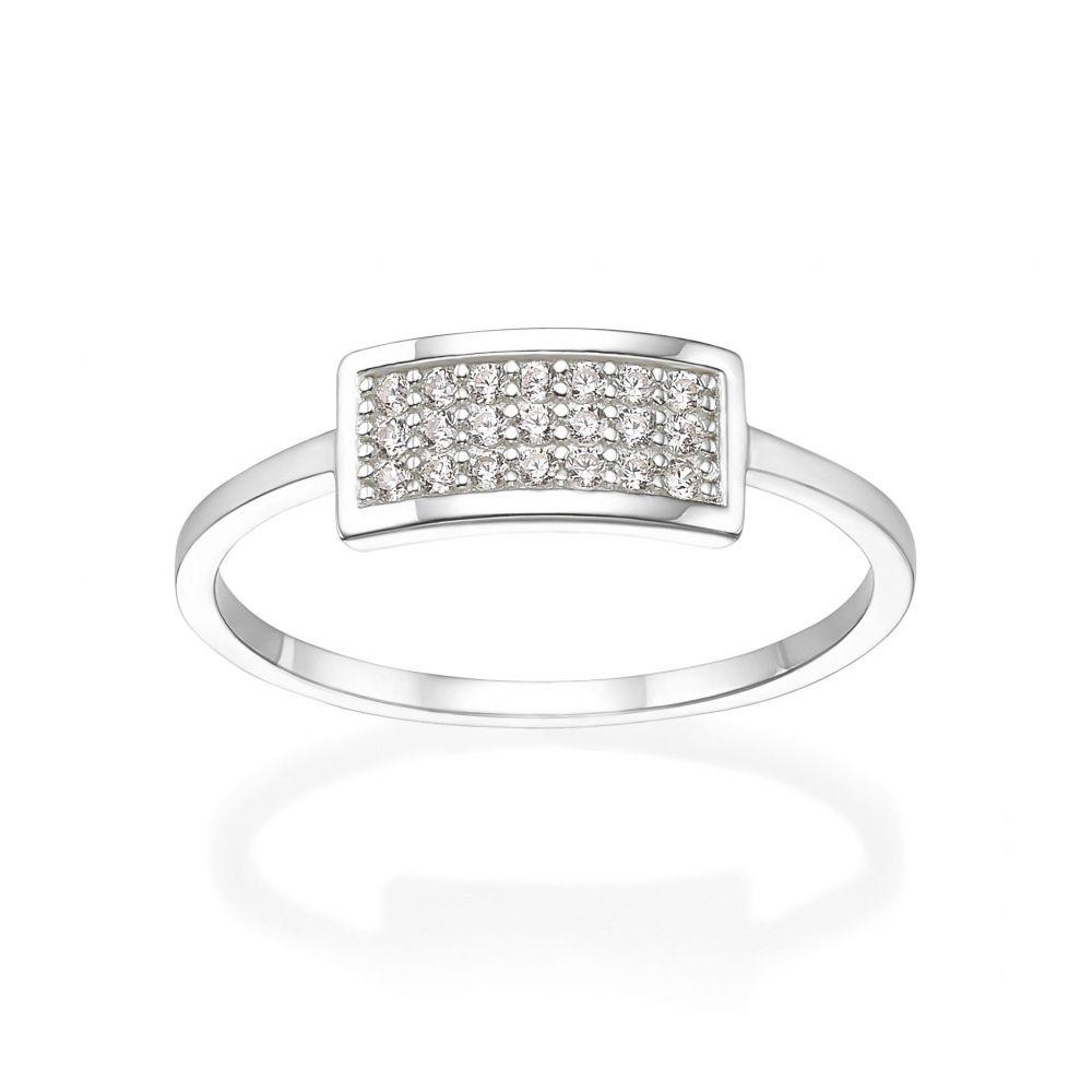 Women's Gold Jewelry | 14K White Gold Rings - Merlin