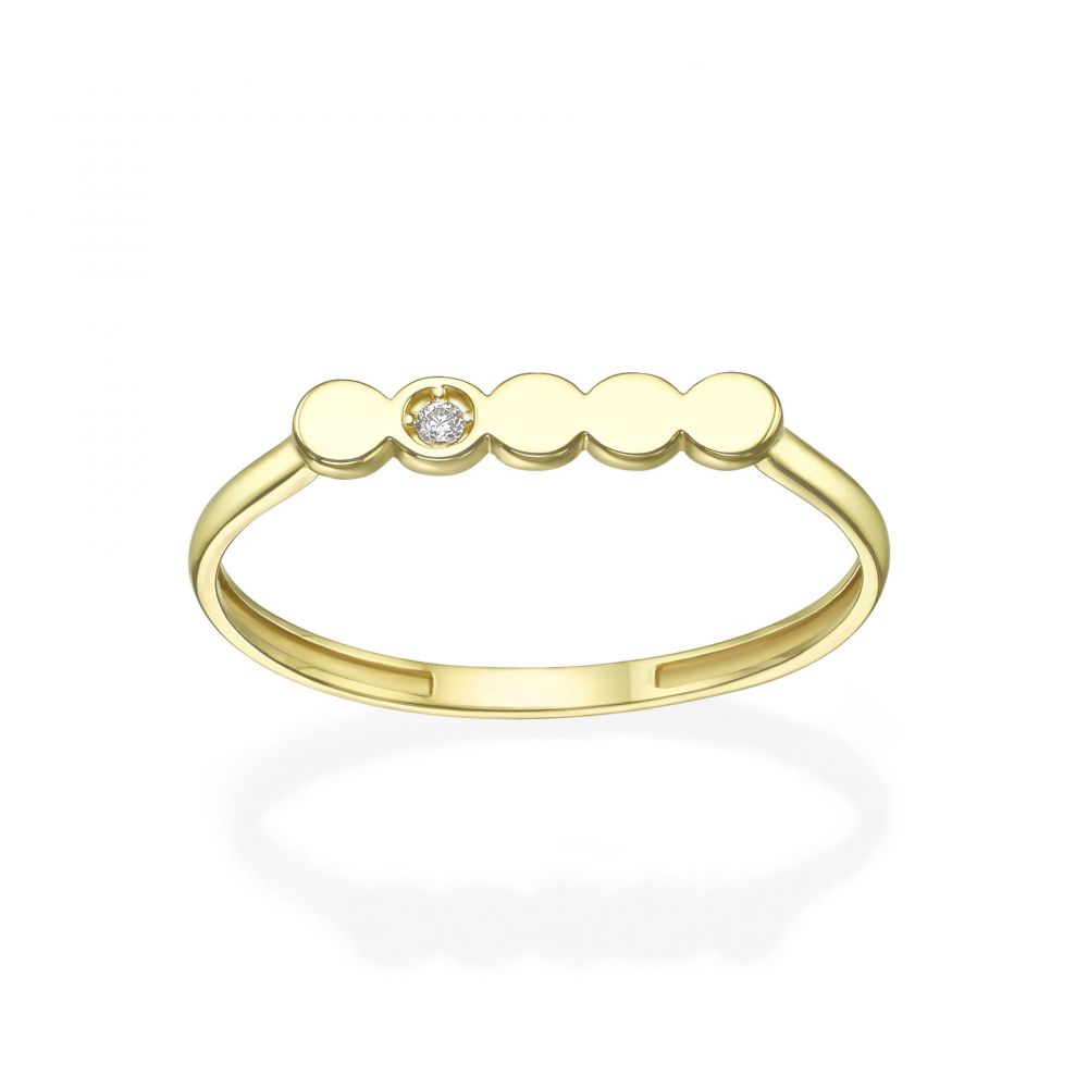 Women's Gold Jewelry | 14K Yellow Gold Rings - Nicole