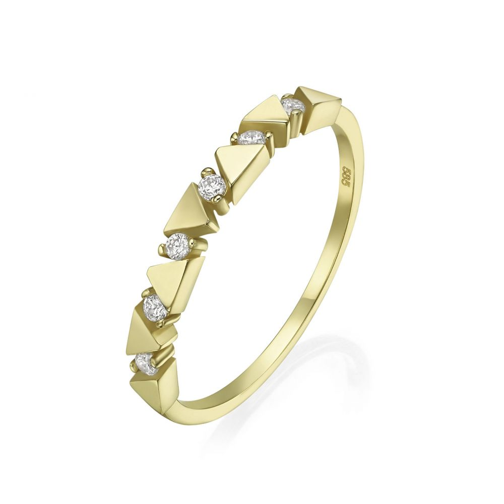 gold rings | 14K Yellow Gold Rings - Ethel